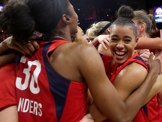 Make no mystake: the Washington Mystics are WNBA champions!