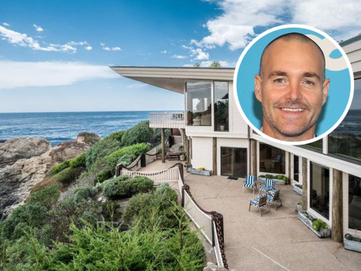 Will Forte Lands Oceanfront Contemporary Near Monterey