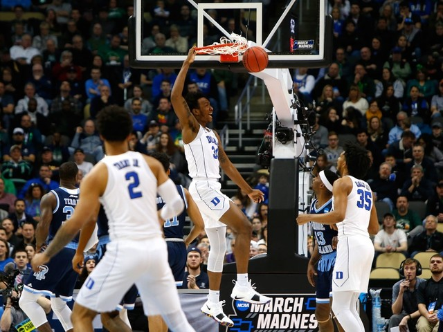 March Madness live: It's been 30 years, but Rhode Island is ready for another shot at Duke