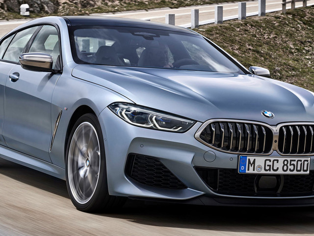 2020 BMW 8-Series Gran Coupe Combines Good Looks With Up To 523 HP