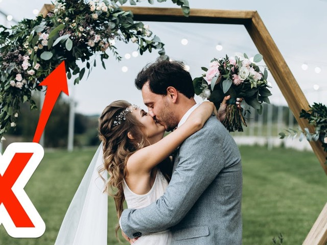 Experts reveal 11 things you should never spend money on for your wedding day