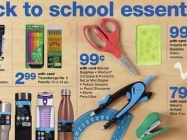 Walgreens Back to School Deals for the week of July 21-27, 2019