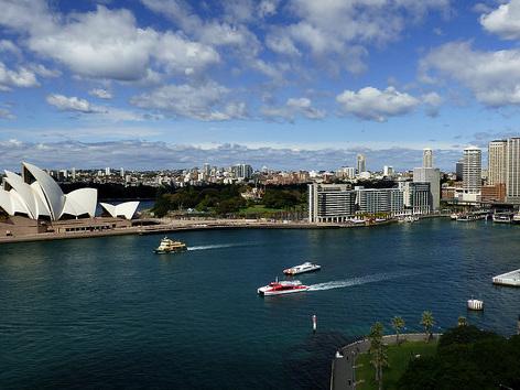United – $780: Boston – Sydney, Australia. Roundtrip, including all Taxes