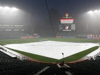 Red Sox-O's postponed after long rain delay with Sox up 5-0