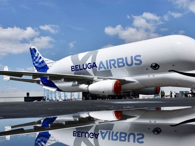 Airbus's massive new cargo plane that looks like a whale is now fully operational