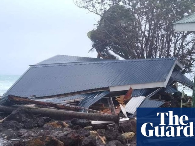 Fiji calls for urgent action on climate crisis as second cyclone hits in three weeks