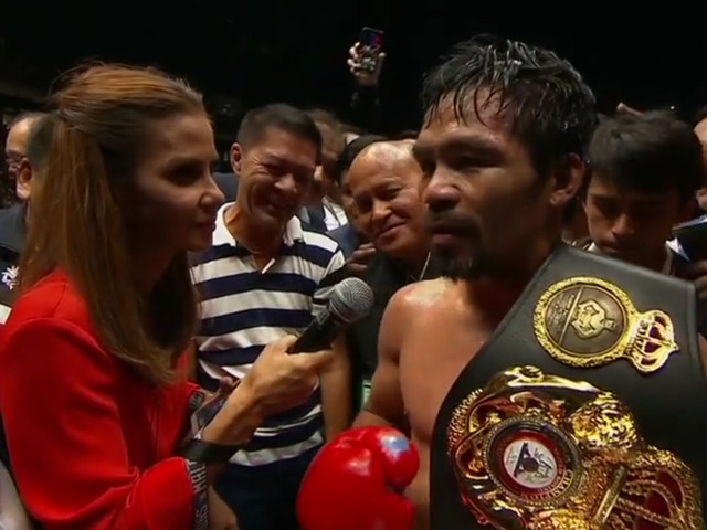 Pacquiao knocks out Matthysse: Full results from Saturday