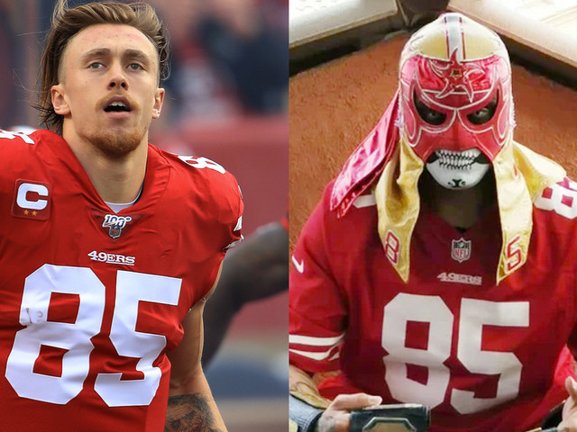 Meet the San Francisco 49ers and their pro wrestling counterparts
