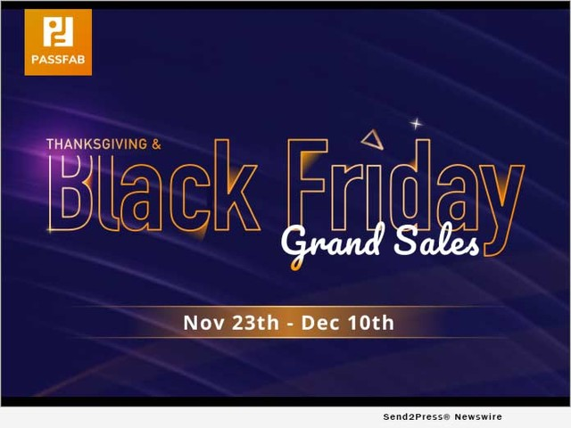 PassFab Launches Thanksgiving and Black Friday Giveaway 2020