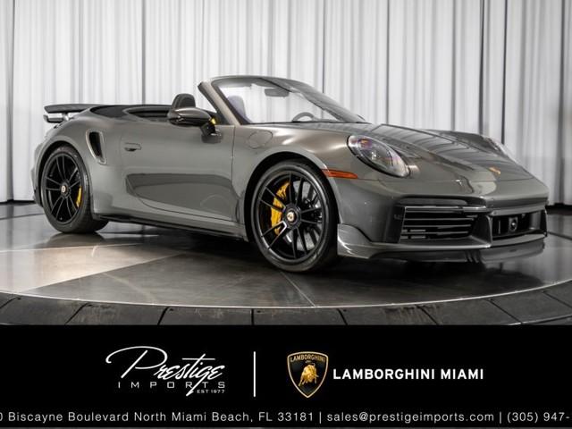 2021 Porsche 911--Turbo--S