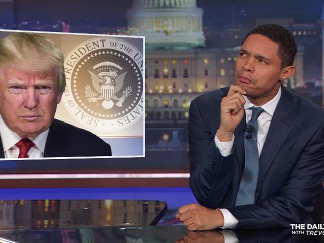 Best of Late Night: <div>Trevor Noah Pans Trump's Vulgarity, a Bleep for Other Hosts</div>