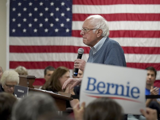 How Sanders's 2019 support compares with his 2016 run