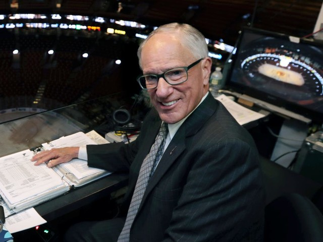 Hall of Fame hockey announcer Mike 'Doc' Emrick retiring from broadcasting