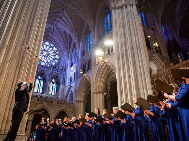 In Washington's crowded choral scene, too much is just enough