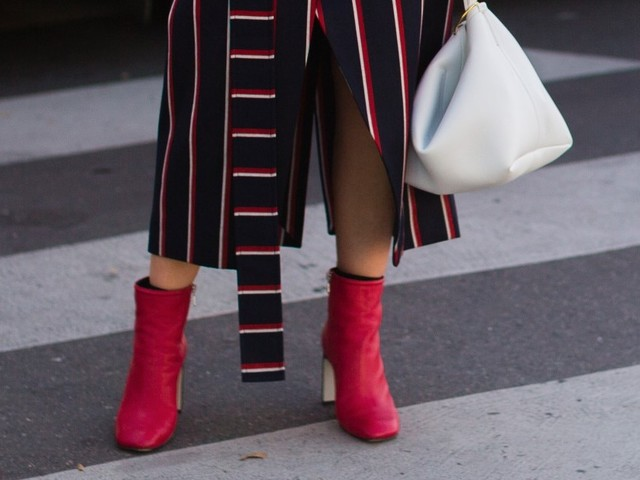 Why You Should Try Colorful Boots This Fall