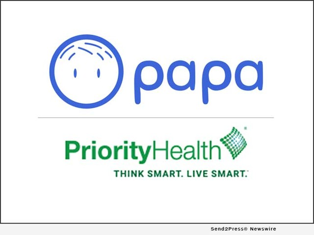 Papa and Priority Health Announce Strategic Partnership Launch to Offer Senior Citizens More Freedom to Age in Place