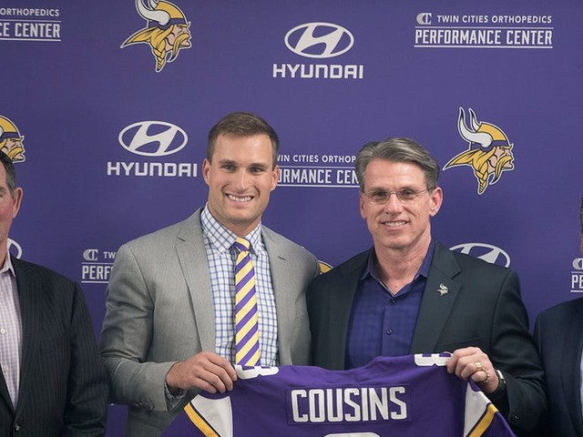 How will make-or-break season for Zimmer, Spielman and Cousins influence draft?