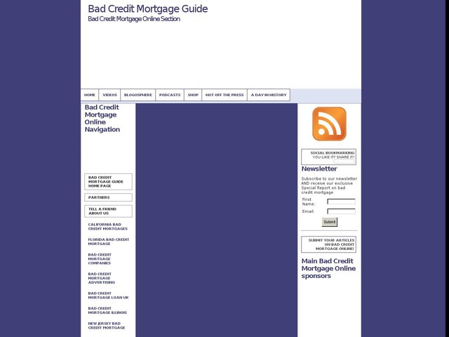 The Pros and Cons of Online Bad Credit Mortgages