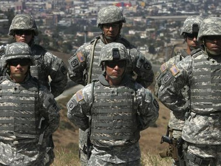 15,000 Mexican Troops Deployed To US Border