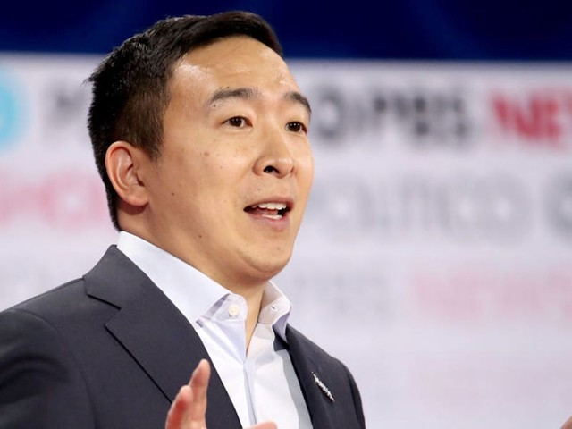 Andrew Yang called it an 'honor and disappointment' to be the only non-white candidate at the latest Democratic debate