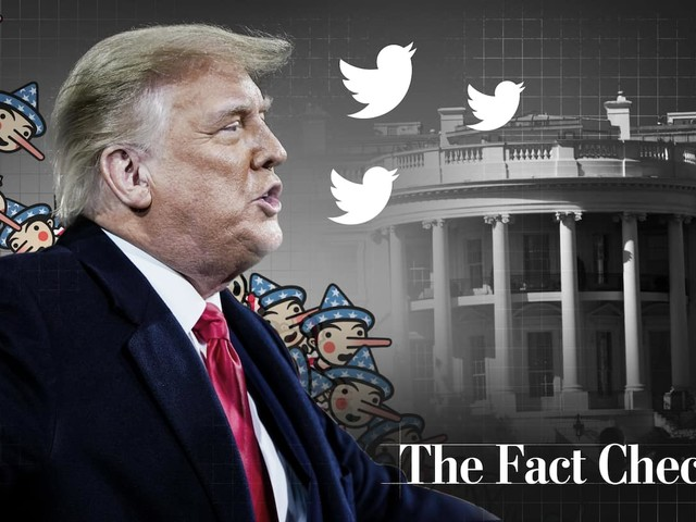 Trump's false or misleading claims total 30,573 over 4 years