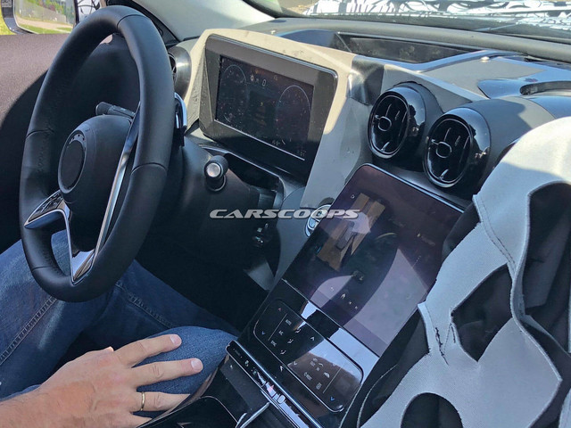 2021 Mercedes C-Class Interior To Feature Dual-Screen Layout