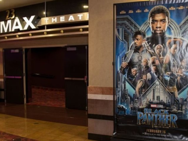 A Guy Dressed As Black Panther Proposed At A 'Black Panther' Screening