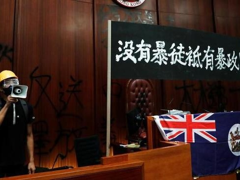 """China Slams US-UK """"Blatant Interference"""" In HK As University Standoff Ends Violently"""