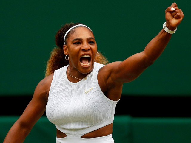 Serena Williams withstands surge from Alison Riske to reach Wimbledon semifinals