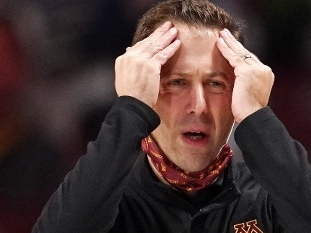 Richard Pitino tells Gophers players his days as their coach might be nearing an end
