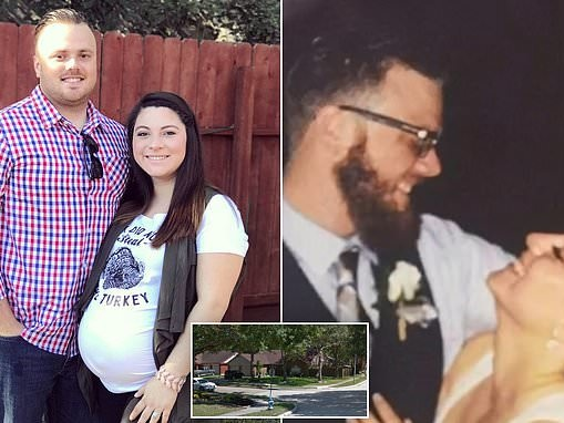 Wife's 911 call after her Australian husband Brenton Estorffe was shot dead in their Texas home