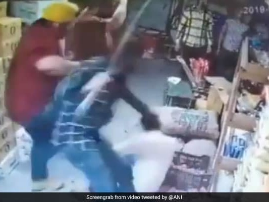 On CCTV, Gang Thrashes Man After Car Collision In West Delhi