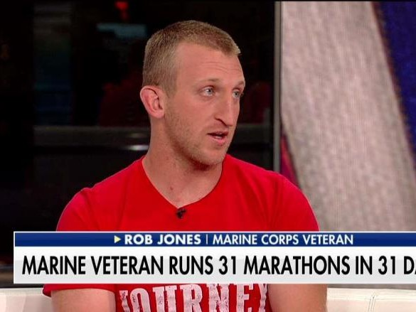 Double Amputee Marine Vet Runs 31 Races to Support Wounded Vets