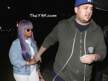 Blac Chyna & Rob Kardashian Do Date Night After Kim Shades Their Relationship + J-Rod Are Back In A Miami Gym
