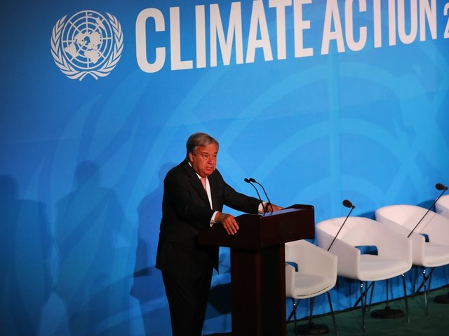 At UN Climate Summit, a lot of talk about action