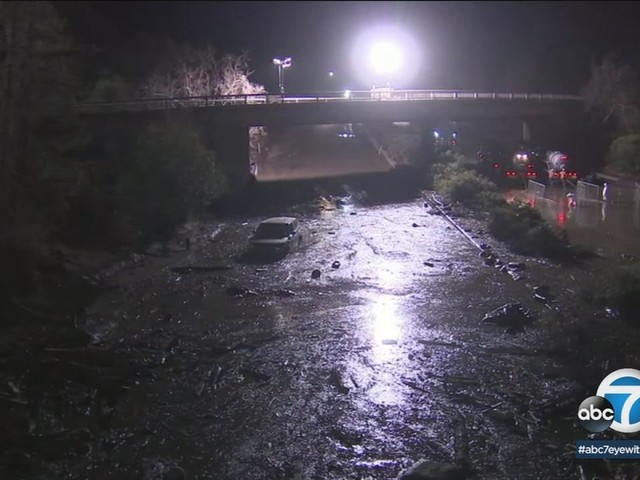 101 Fwy closed indefinitely in Montecito as death toll rises to 19 and 5 remain missing