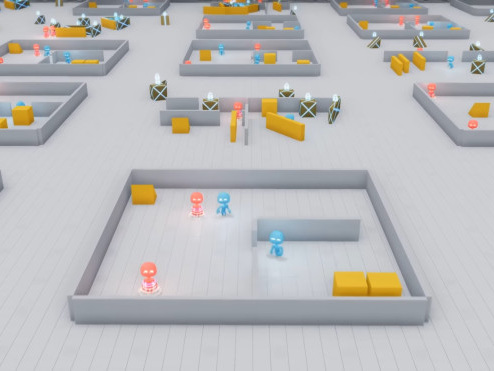 Clever hide-and-seek AIs learn to use tools and break the rules