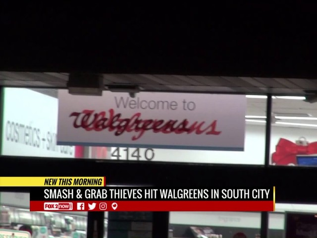 Police investigate smash-and-grab at south city Walgreens