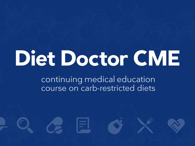 Diet Doctor free CME course: help us spread the word