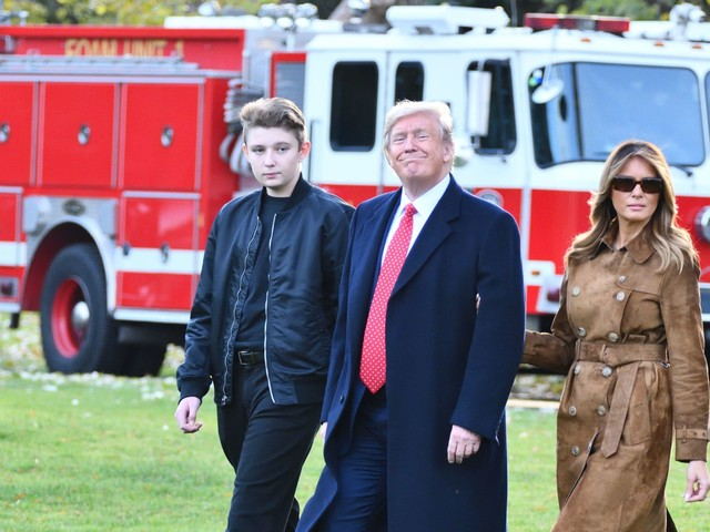 Trump calls for schools to reopen—but Barron won't be attending in-person classes