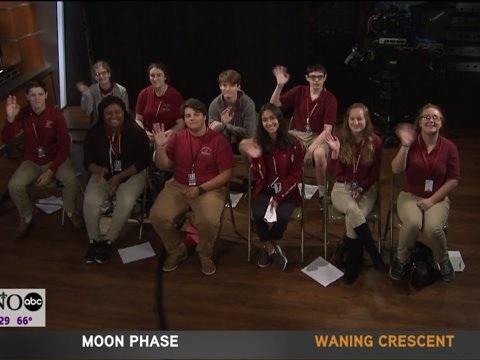 Students from Destrehan High School Visit the Studio
