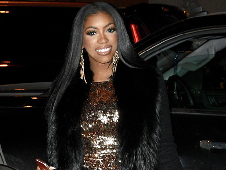 Porsha Williams' Adorable Daughter Pilar Cools Off With Her Own Personal Fan In Her Stroller