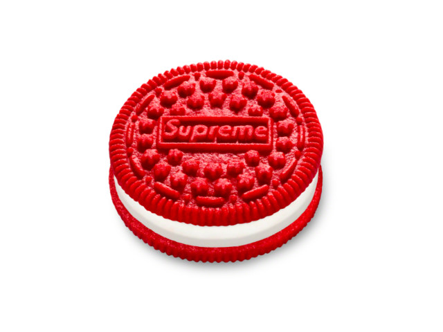 Supreme hypebeasts love the company so much they're paying big bucks for Supreme-branded Oreos