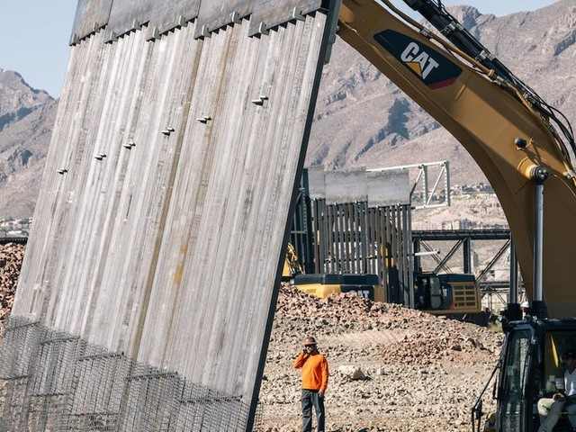 19 states sue Trump administration over use of Department of Defense funds for border wall construction