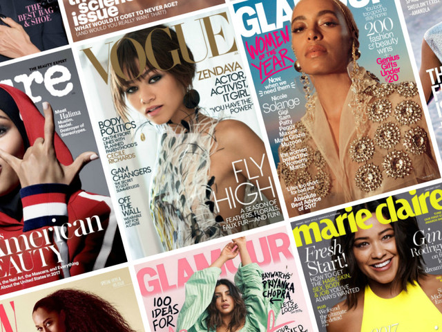 Diversity on Magazine Covers Saw a Slight Decline in 2017