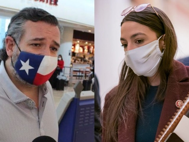 TIMELINE: How political rivals Ted Cruz and AOC reacted to the devastating Texas winter storm