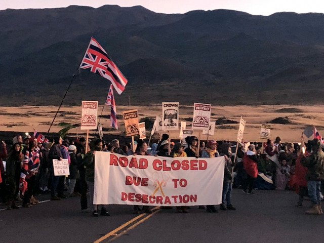 U of Hawaii pursues controversial Thirty Meter Telescope on Mauna Kea and is leading indigenous institution
