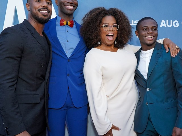 Oprah, Tarell Alvin McCraney Discuss Their Quest to Validate Black Boys With New Series David Makes Man