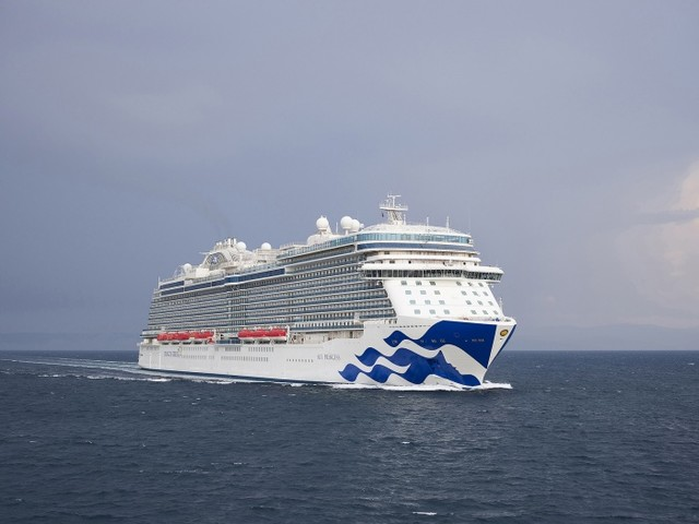 News: Sky Princess prepares for debut cruise in Mediterranean