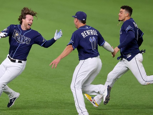 The Rays Evened the World Series in Startling Fashion